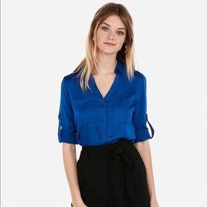 Express • Portofino Blue Shirt